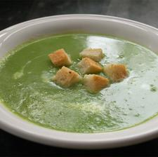 Pea Spring Onion & Tarragon Soup