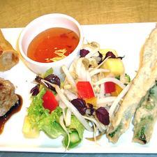 Oriental Duck & Asparagus Combo
