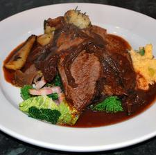Braised Topside with Porcini Mushrooms